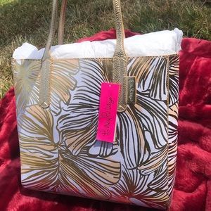 Lilly Pulitzer Surrey Reversible Tote NWT